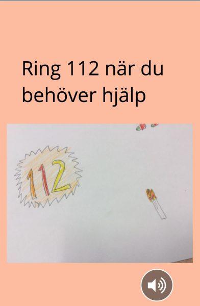 Ring 112 när du behöver hjälp