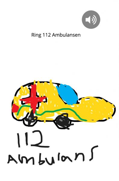 Ring 112 ambulansen